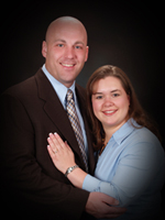 This is a photo of our pastors, Brad and Lynnsey Klooster.
